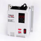 Стабилизатор Solpi-M TSD-500ВА (настенный) пластик.корпус