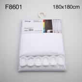 8601 F (белый тканевая) 180*180