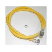"Подводка для газа ПВХ (желтая) 1/2"" 1,0 м г/ш"
