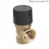 "Клапан предохр. VALTEC вн. рез. 1/2"" 1,5 бар VT.0490.G0415"