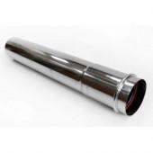 BCSA0499 Удлинитель дымоходов 1000мм раздельный Ф80 Silver (серебрянный) Navien