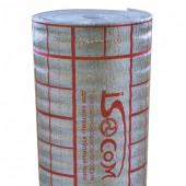 Подложка ИЗОЛГАРАНТ для теплого пола (рулон 1,2м*25м*3мм) S=30кв.м ИЗОЛГАРАНТ