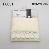 8651 F (бежевый тканевая) 180*200