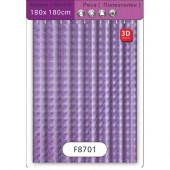 8701 F 3D 180*180* фиолетовый
