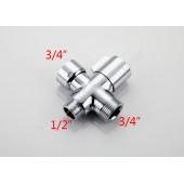 Вентиль клапанный( переключатель)люкс FBBB-2