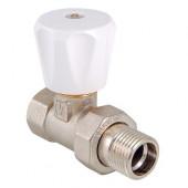 """Вентиль д/радиатора VALTEC (компактный) прямой ручной рег. 1/2"""" VT.008.LN.04"""