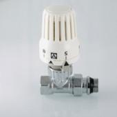 Клапан с термостатической головкой VALTEC,для радиатора,прямой 1/2 VT.048.N.04