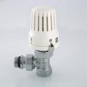 Клапан с термостатической головкой VALTEC,для радиатора,угл. 1/2 VT.047.N.04