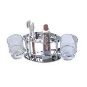 F101 Держатель стаканов,зубной пасты и щеток F 101