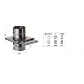 Шибер-задвижка (439/0,8 мм) Ф110 выдвижной