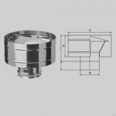 Зонт-Д с ветрозащитой Ф100 (430/0,5 мм)
